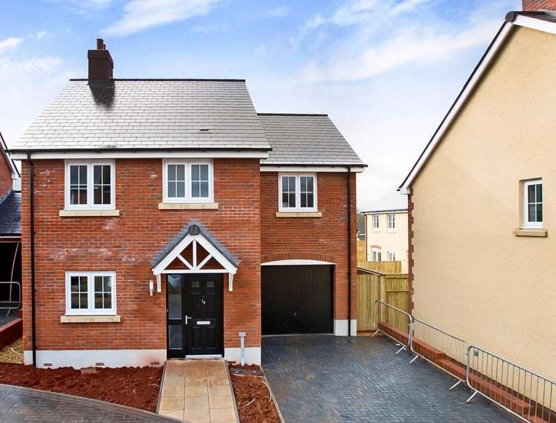 4 Bedrooms Detached House for sale in Plot 21 The Alice, Greenhill, Kingsteignton, Newton Abbot