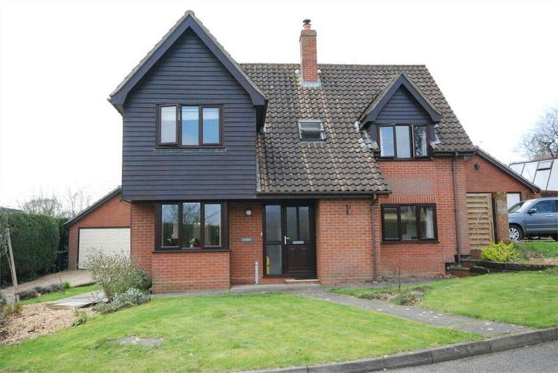 4 Bedrooms Detached House for sale in Parsonage Grove, Bures, Essex
