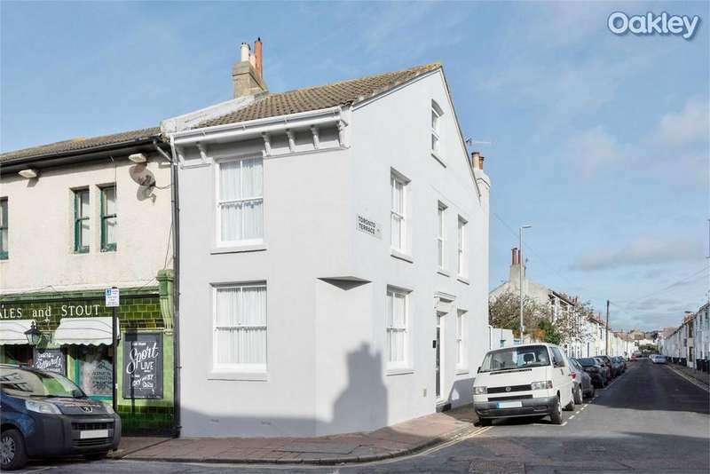 3 Bedrooms Semi Detached House for sale in Albion Hill, Hanover, East Sussex