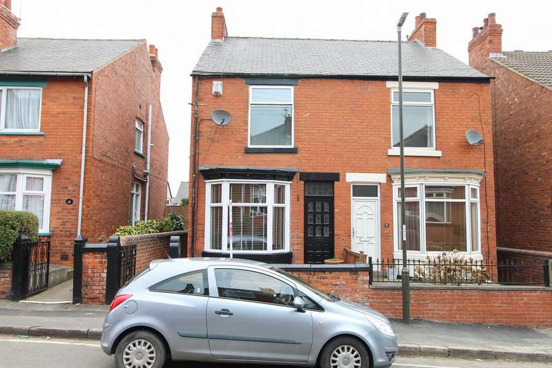 3 Bedrooms Semi Detached House for sale in Tapton View Road, Chesterfield