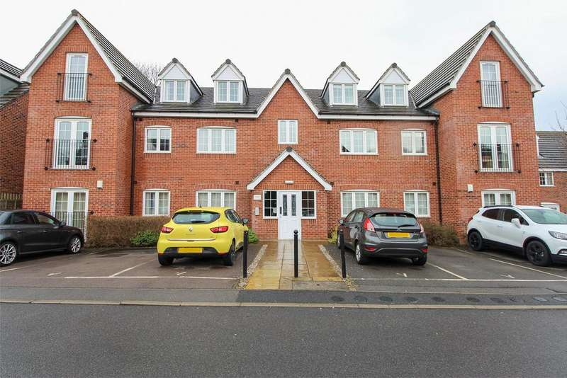 2 Bedrooms Apartment Flat for sale in Old Pheasant Court, Brookside