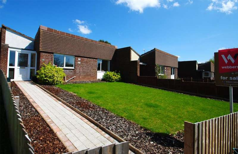 2 Bedrooms Terraced Bungalow for sale in Sycamore Close, Taunton