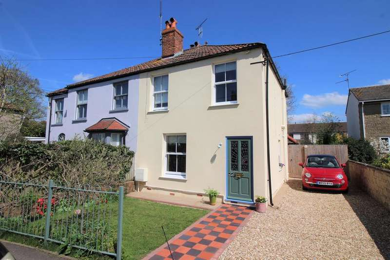 3 Bedrooms Semi Detached House for sale in Easton Hill Road, Thornbury, Bristol, BS35 2JU