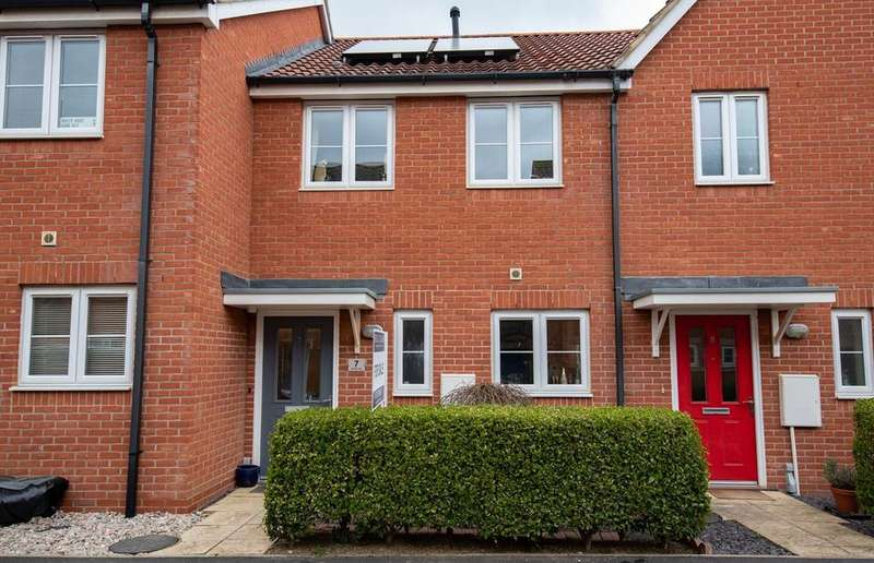 2 Bedrooms Terraced House for sale in Aintree Way, Bourne, PE10