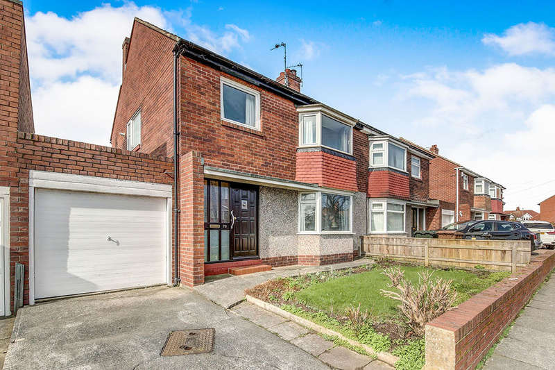 3 Bedrooms Semi Detached House for sale in Seatonville Road, Whitley Bay, NE25