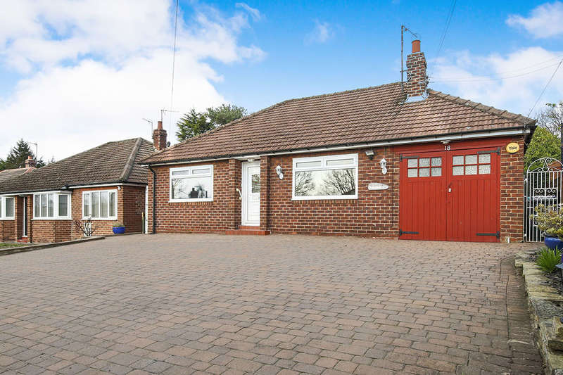 2 Bedrooms Detached Bungalow for sale in Springhouse Lane, Ebchester, Consett, DH8
