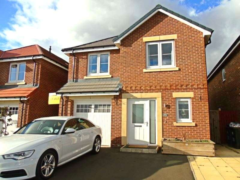 4 Bedrooms Property for sale in Hadrian Wynd, Hadrian Park, Newcastle Upon Tyne, Tyne and Wear, NE28 9ZH