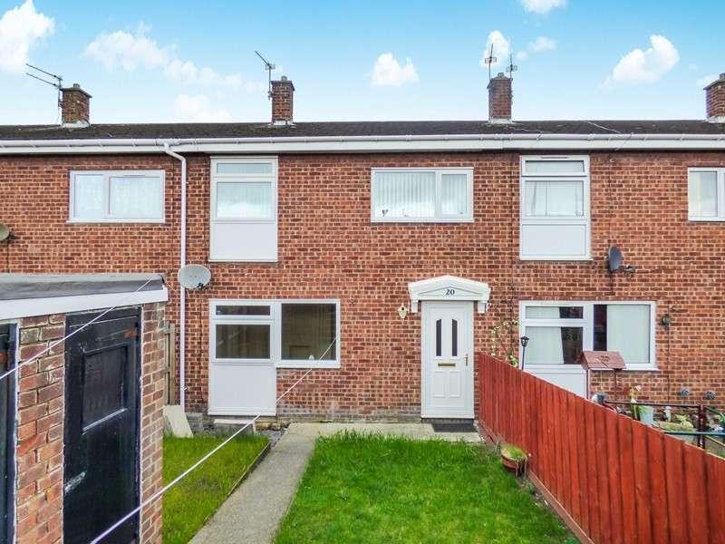 3 Bedrooms Property for sale in Briardale, Bedlington, Bedlington, Northumberland, NE22 6EH