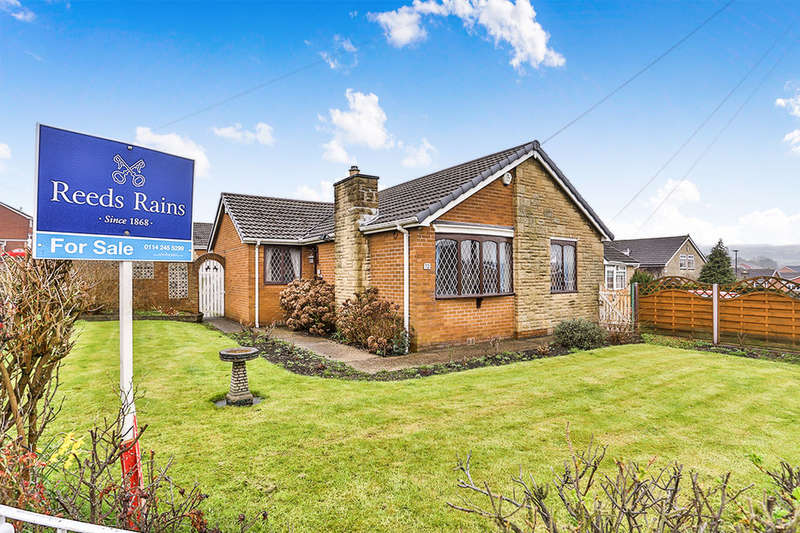 3 Bedrooms Detached Bungalow for sale in Markbrook Drive, High Green, Sheffield, S35
