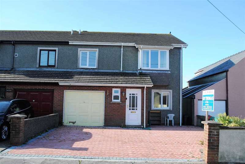3 Bedrooms Semi Detached House for sale in Bryn Hyfred, Chapel Road, Llanreath,, Pembroke Dock