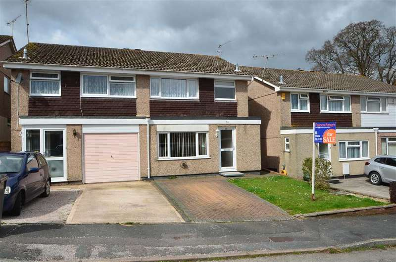 3 Bedrooms Semi Detached House for sale in Gatehouse Rise, Dawlish