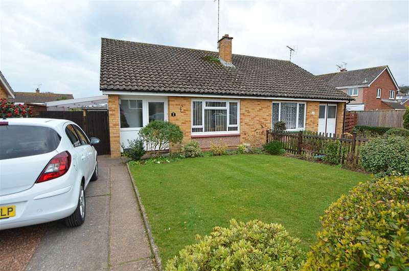 2 Bedrooms Bungalow for sale in Wychwood Close, Dawlish