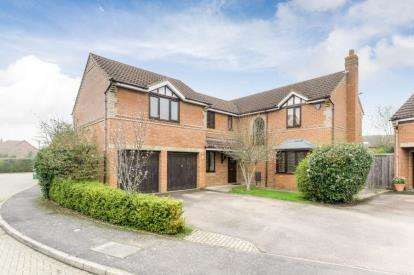 5 Bedrooms Detached House for sale in Quilter Meadow, Old Farm Park, Milton Keynes