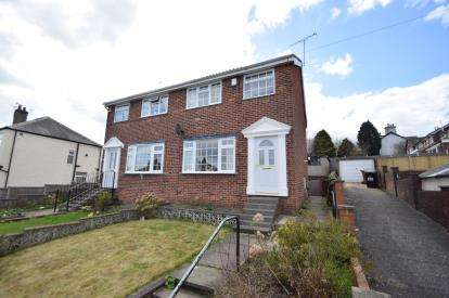 3 Bedrooms Semi Detached House for sale in Moorside Drive, Bramley, Leeds, West Yorkshire