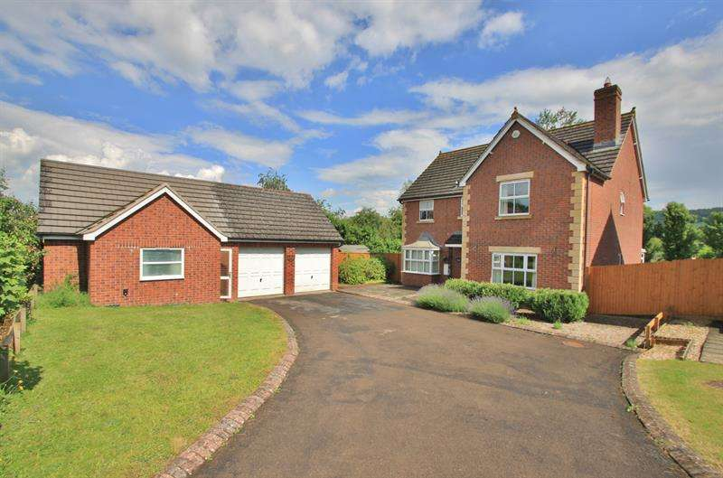 5 Bedrooms Detached House for sale in Rudhall Meadow, Rudhall, ROSS ON WYE