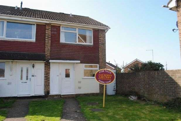 2 Bedrooms End Of Terrace House for sale in St Johns Avenue, Kingsthorpe, Northampton NN2 8QZ
