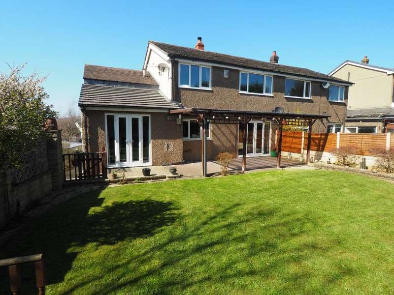 4 Bedrooms Semi Detached House for sale in Ashfield Road, Chapel-en-le-Frith, High Peak, Derbyshire, SK23 0PS
