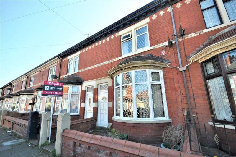 3 Bedrooms Terraced House for sale in Whittam Avenue, South Shore, Lancashire, FY4 4BU