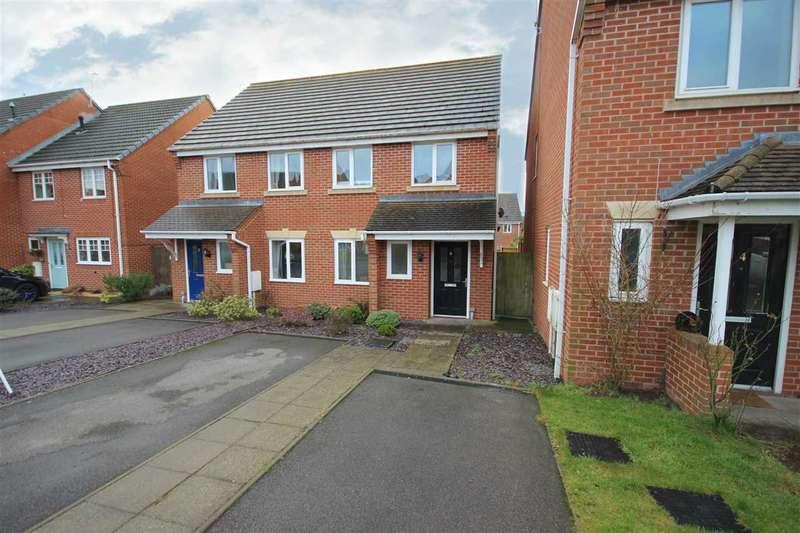 2 Bedrooms Semi Detached House for sale in Bannock Street, Weston Coyney, Stoke-on-Trent
