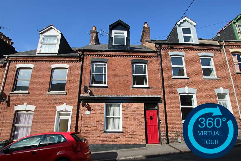 2 Bedrooms Maisonette Flat for sale in Portland Street, Newtown, Exeter