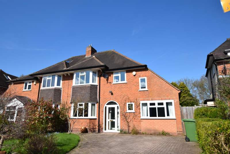 4 Bedrooms Semi Detached House for sale in Witley Avenue, Solihull, West Midlands