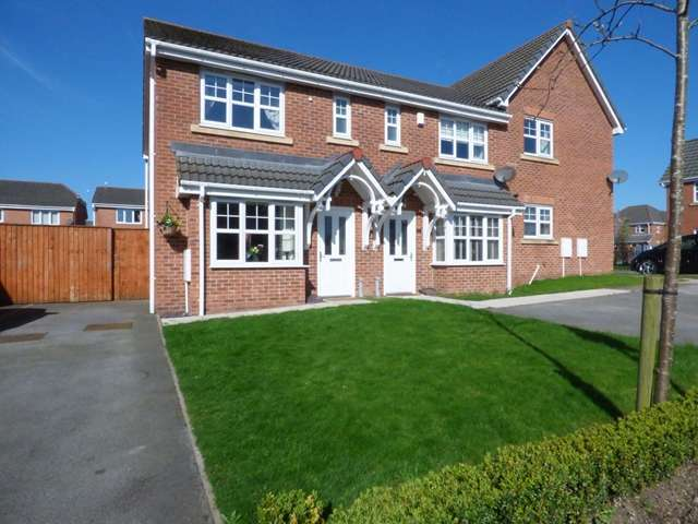 3 Bedrooms Semi Detached House for sale in New Inn Close, Buckshaw Village, Chorley, PR7