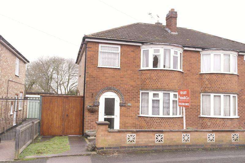 3 Bedrooms Semi Detached House for sale in Croft Drive, Wigston Fields