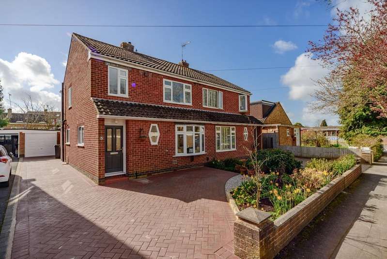 3 Bedrooms Semi Detached House for sale in Willoughby Avenue, Kenilworth