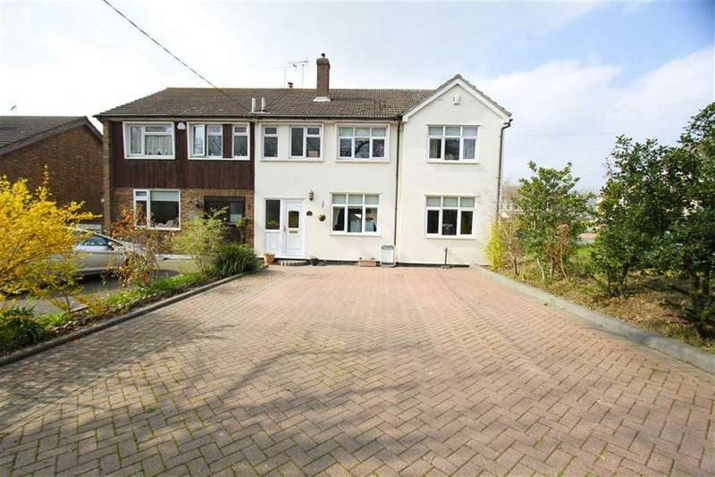 4 Bedrooms Semi Detached House for sale in Perry Street, Billericay