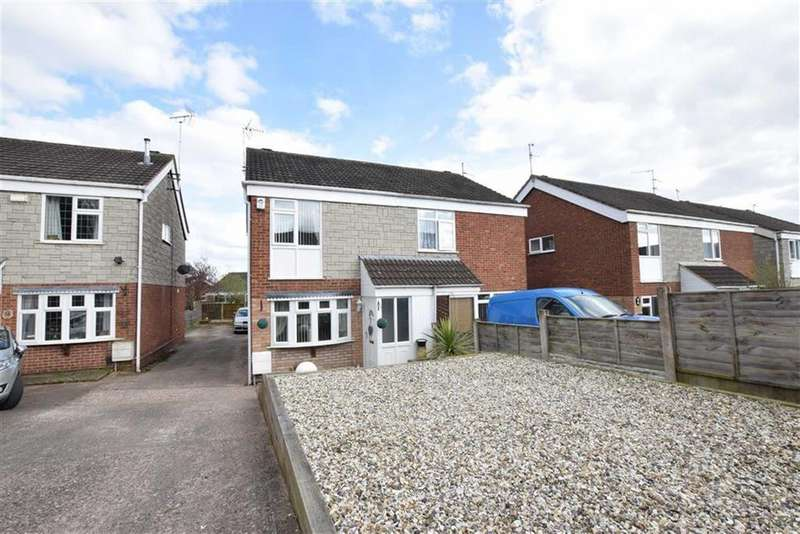 3 Bedrooms Semi Detached House for sale in Brabham Close, Kidderminster, Worcestershire