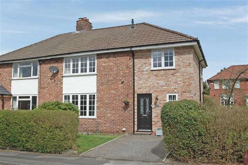 3 Bedrooms Semi Detached House for sale in Lindfield Estate South, Wilmslow, Cheshire