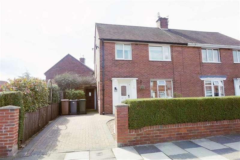 3 Bedrooms Semi Detached House for sale in Lincoln Avenue, Wallsend, Tyne And Wear, NE28