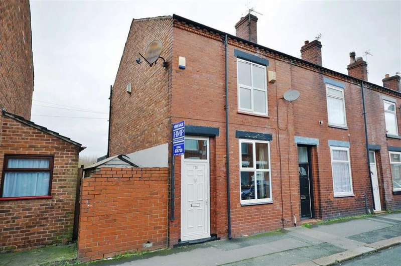 3 Bedrooms End Of Terrace House for sale in Glebe Street, Leigh