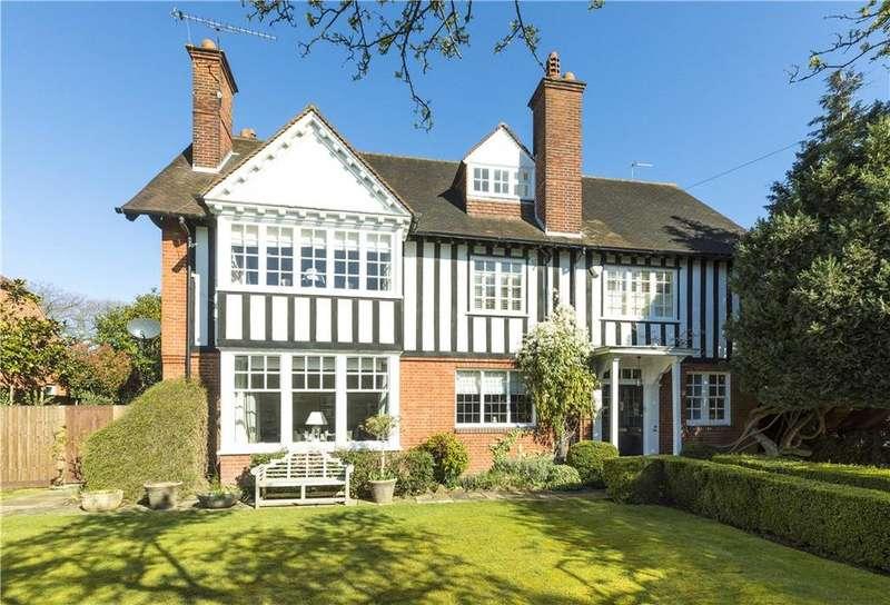 6 Bedrooms Detached House for sale in Oatlands Avenue, Weybridge, Surrey, KT13