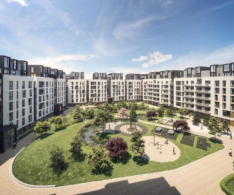 3 Bedrooms Apartment Flat for sale in New Garden Quarter, Stratford