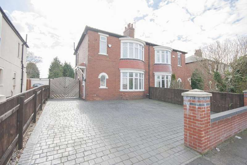 3 Bedrooms Semi Detached House for sale in Croft Avenue, Acklam TS5
