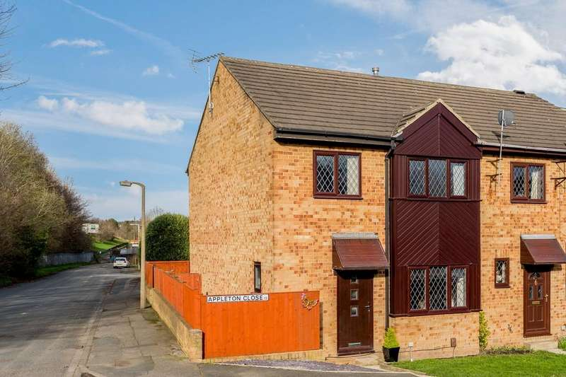 3 Bedrooms Town House for sale in Appleton Close, Oakenshaw