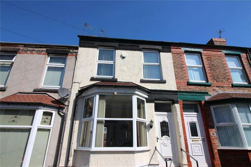 2 Bedrooms Terraced House for sale in Larch Road, Birkenhead, Merseyside, CH42