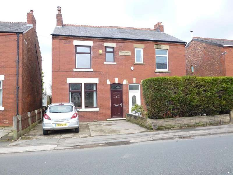 3 Bedrooms Semi Detached House for sale in Croston Road, Farington Moss PR26
