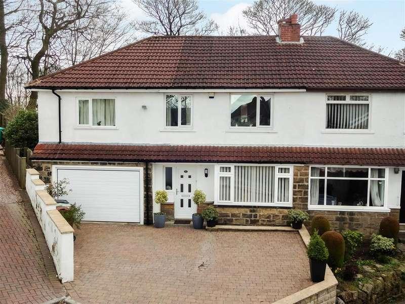 4 Bedrooms Semi Detached House for sale in Larkfield Avenue, Rawdon, Leeds