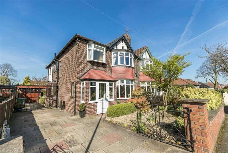 3 Bedrooms Semi Detached House for sale in Amberley Road, Sale