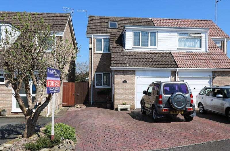 4 Bedrooms Semi Detached House for sale in Boyd Road, Saltford, Bristol