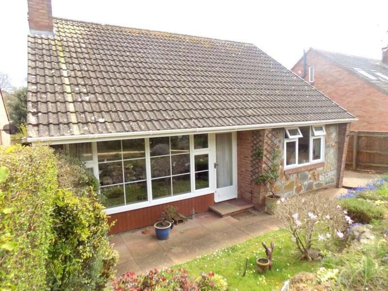 2 Bedrooms Detached Bungalow for sale in Bapton Close, Exmouth