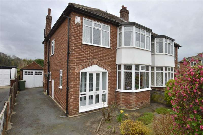 3 Bedrooms Semi Detached House for sale in Kingsley Avenue, Milnthorpe, Wakefield, West Yorkshire