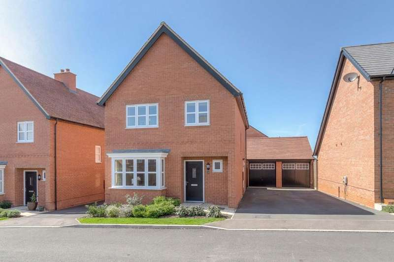 4 Bedrooms Detached House for sale in Rogers Way, Winslow