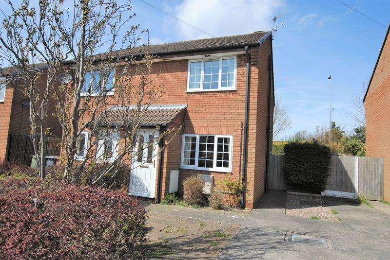 2 Bedrooms Semi Detached House for sale in Norwich Drive, Upton