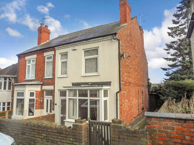 2 Bedrooms Semi Detached House for sale in High Street, Loscoe, Heanor