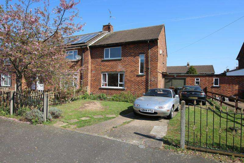 2 Bedrooms Semi Detached House for sale in 34 Anderby Drive, Lincoln