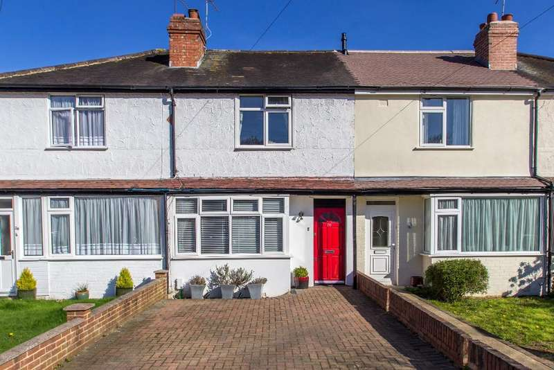 2 Bedrooms Terraced House for sale in Hamsey Green Gardens, Warlingham, Surrey, CR6 9RQ