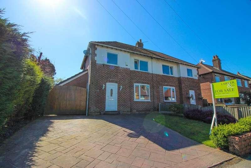 3 Bedrooms Semi Detached House for sale in Garthland Road, Hazel Grove, Stockport, SK7